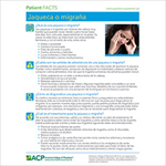 Patient FACTS: Migraine, Spanish